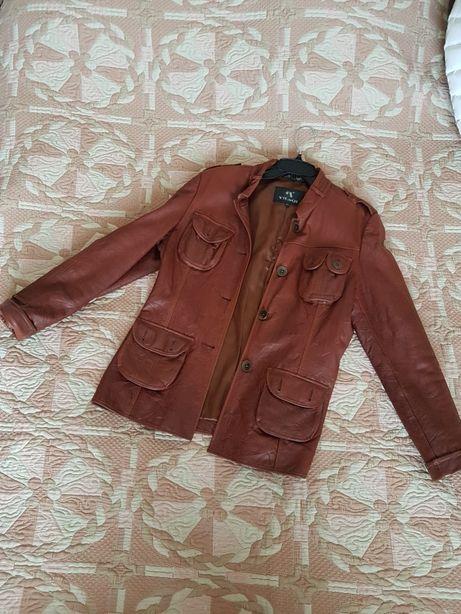 Куртка кожа, турция, женская
