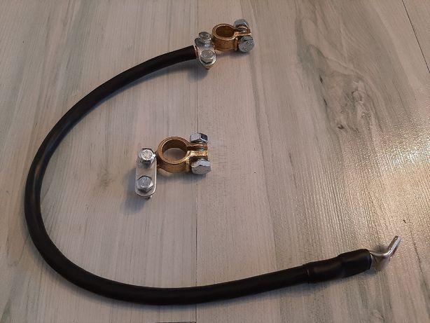 Kabel masa 32mm2, 50cm, z klemą, uniwersalna