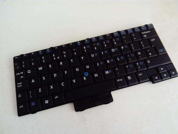 Teclado UK de Portatil HP 2510/p - Como novo