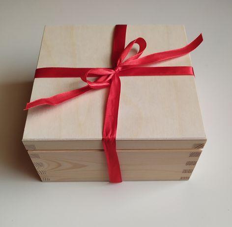 Drewniane pudełko, zastrzyk gotówki, ślub wesele urodziny,na prezent