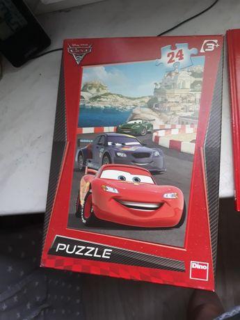 Puzzle autka w dobrym stanie