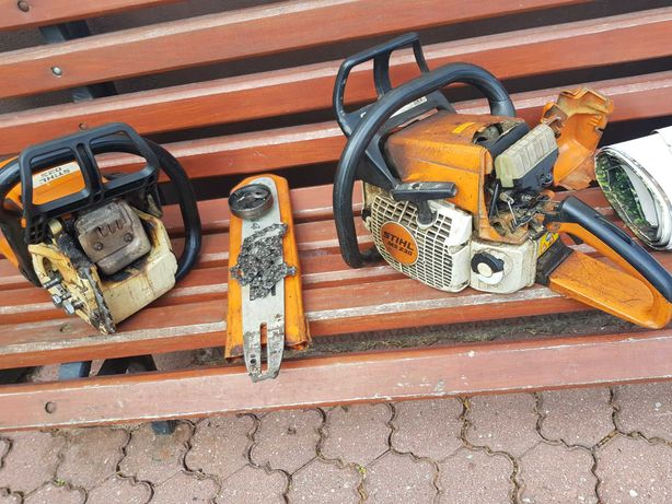 Pilarka spalinowa Stihl 023 oraz ms 230 uszkodzone
