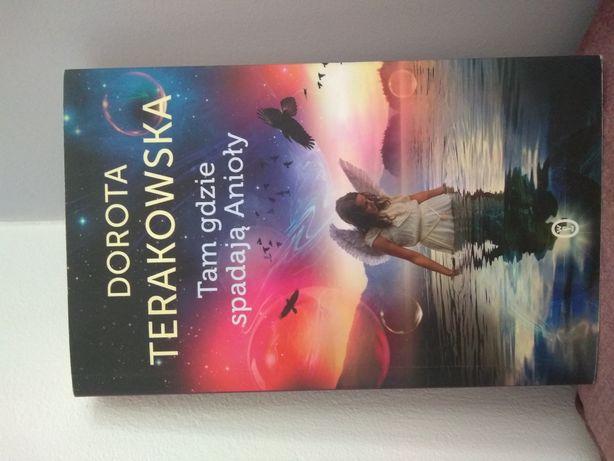 """,,Tam gdzie spadają anioły"""" Dorota Terakowska"""