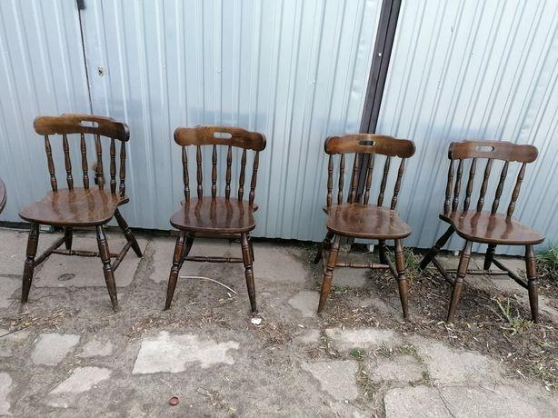 Krzesła  drewniane solidne