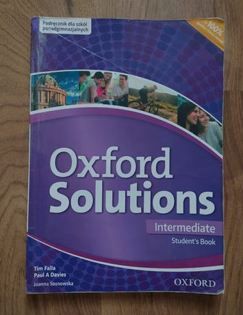Oxford Solutions Intermediate