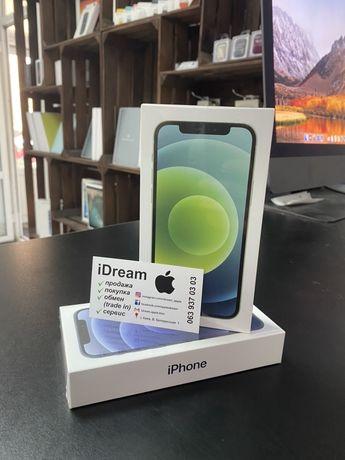 Apple iPhone 12 64 gb Green DualSim (2-Sim) ГАРАНТИЯ, МАГАЗИН, ОБМЕН!