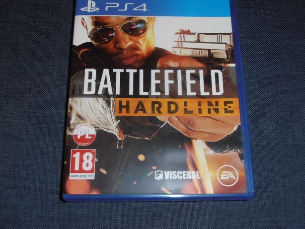 Battlefield Hardline PS 4 PL