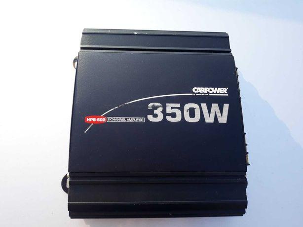 Wzmacniacz Carpower HPB-602 350w, idealny do subwoofera