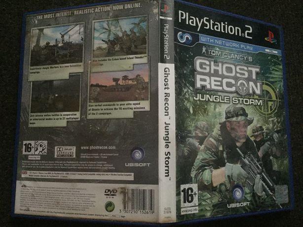 Sprzedam grę na konsolę PS2: Tom Clancy's Ghost Recon: Jungle Storm