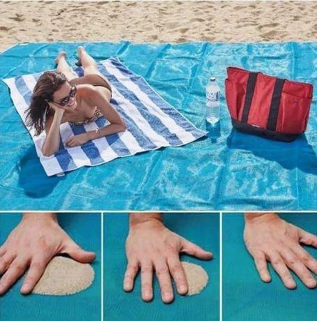 Коврик для пляжа Антипесок 200*150 см  Пляжное покрывало