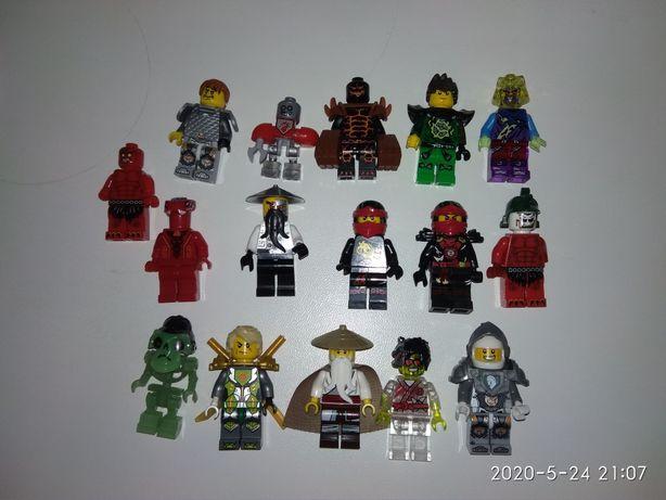ЛЕГО Ниндзяго, Некзо Найтс. Lego Ninjago. Человечки.
