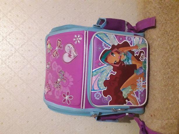 Школьный Рюкзак(портфель)(ранец)Winx.