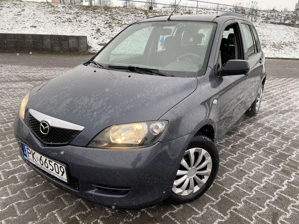 Śliczna Mazda 2 1.2 Benzynka 185 tys.km 2004/05 - KlimaMrozi - StanBDB