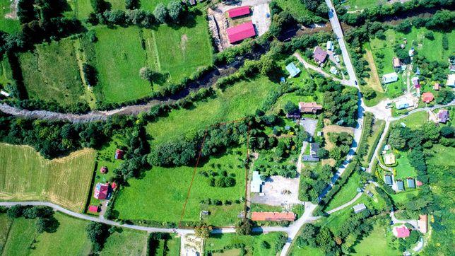 Klimatyczna działka w Bieszczadach - Baligród Podzamcze