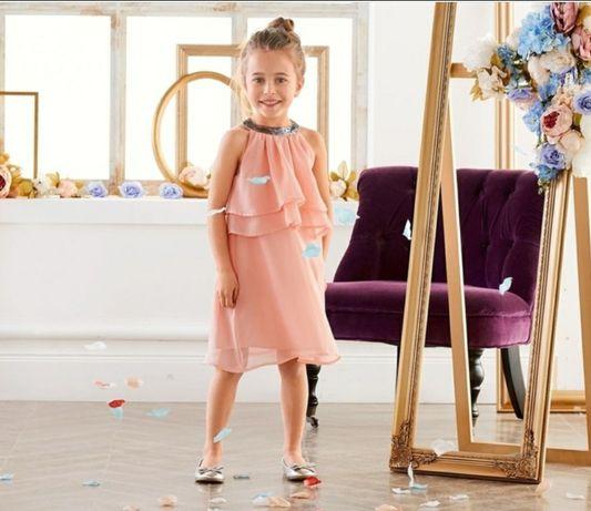 Nowa sukienka dziewczęca 2-4 lata Lupilu 98-104 sukieneczka spodniczka