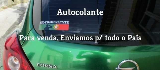 Autocolantes EX-COMBATENTE