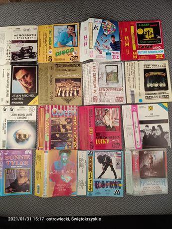 Okładki kaset magnetofonowycj