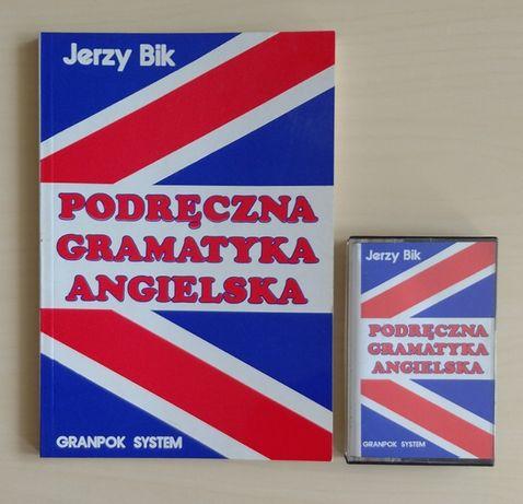 Podręczna gramatyka angielska + kaseta - Jerzy Bik - Okazja!! Tanio!!