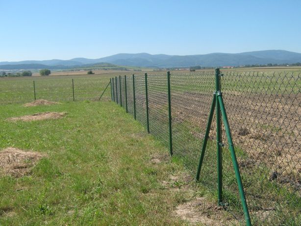 SIATKA ogrodzeniowa - Kompletne Ogrodzenie 1,5m - DOSTAWA GRATIS