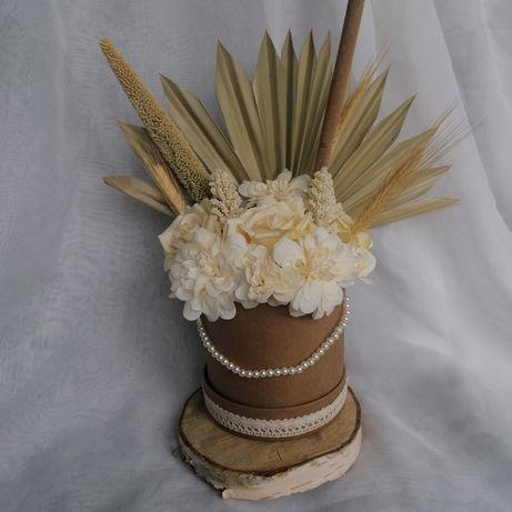 Boho Flower Box wedding