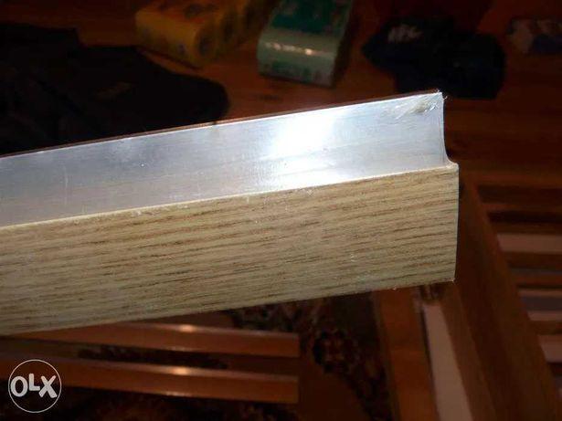 Listwa progowa łącząca A61 aluminiowa 90cm 0,9m KOLOR DĄB