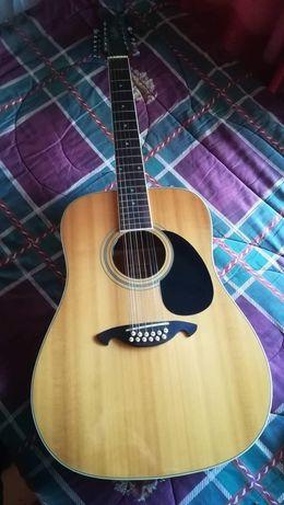 Guitarra 12 cordas Vester anos 80, em ótimo estado de conservação