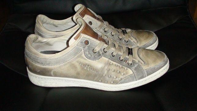 GioRGio - шкіряні туфлі-кросівки, кеди. Оригінал
