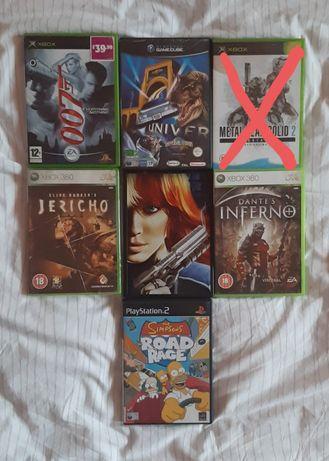 Gry Xbox360, Gamecube, PS2 czytaj opis.
