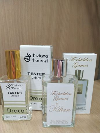 Продам женские духи tiziana terenzi draco и kilian forbidden games