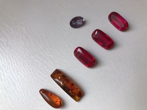 Драгоценные камни из старинных золотых изделий, прошлого века!