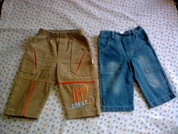 брюки и джинсы на мальчика до 3-х лет