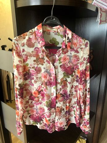 Блуза кофточка рубашка женская М