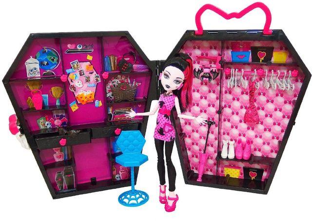 Monster High Szafka Walizeczka
