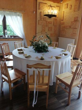 Dekoracje ślubne sale weselne, kościół, fajerwerki itp.