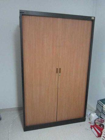 armario ferro portas de correr (com entrega)