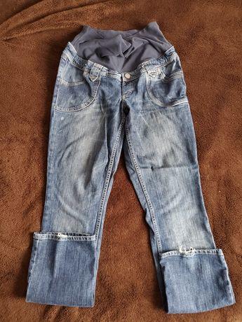 Spodnie, jeansy ciążowe H&M 40