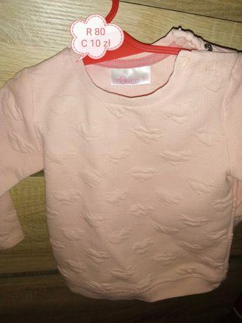 Bluza dziewczęca 80