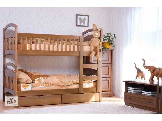Двухъярусная кровать Карина Люкс. Трансформер, напряму производитель