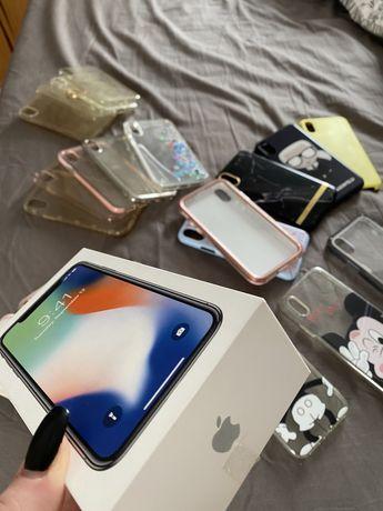 Iphone X Silver, 64GB