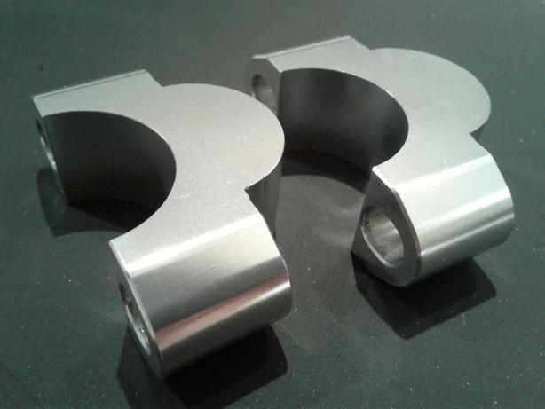 28 mm podwyżka podwyższenie  kierownicy riser enduro moto 20 mm wys.