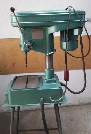 Wiertarka stołowa, 8 biegów, blat 55 x 37 cm, wysokość 167 cm