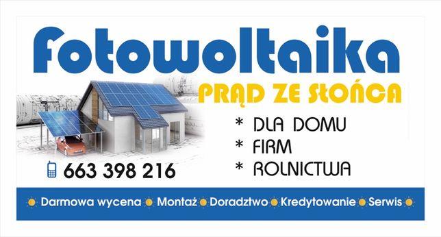 Fotowoltaika, panele fotowoltaiczne , instalacja 10 kW , Dotacja