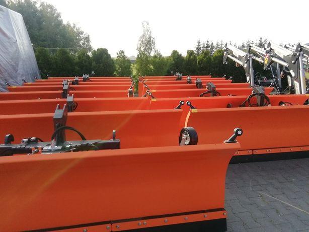 Pług do śniegu INTER-TECH PSSH-04, hydrauliczny, szer. 3 m