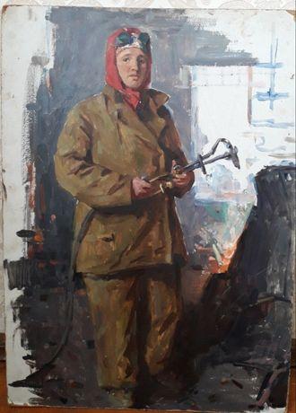 Газосварщица