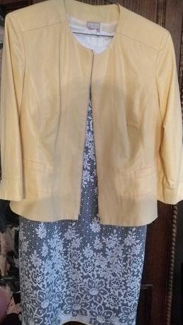 Sukienki 2 w cenie 1. Bolerko ze skaju.