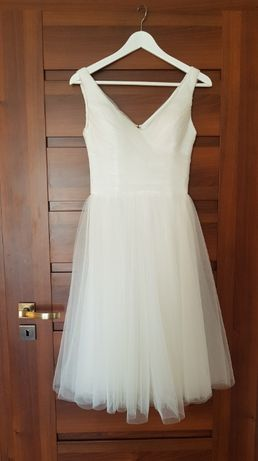 Sukienka ślubna na przebranie, r. 34