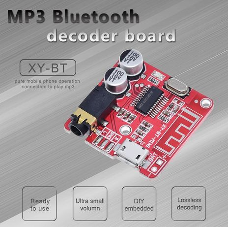 Bluetooth Audio Receiver Модуль Плата Ресивер AUX