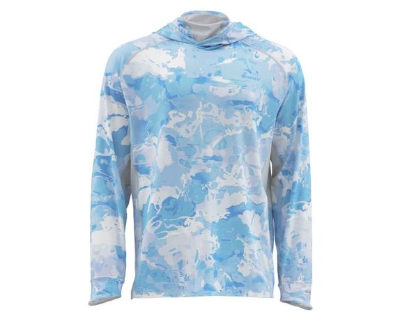 Simms Solarflex Armor shirt CLOUDU CAMO BLUE