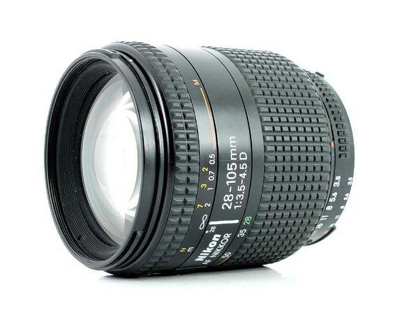 Lente Nikon AF 28-105mm f 3.5-4.5D Macro garantia 2022