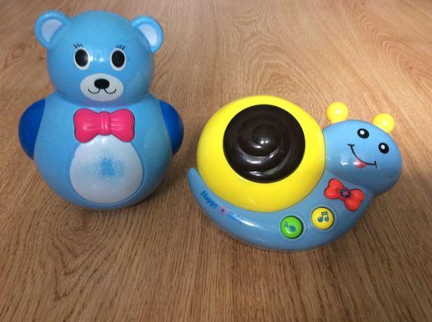 Интерактивная игрушка Улитка и неваляшка